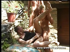 Butt fucking in the garden with cute gay guys tubes