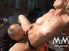 Horny mature slut is eager for dick from the chubby guy tubes