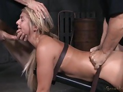 Dungeon sex slave hammered by big cock guys tubes