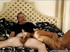 Amateur asian girl banged by an old white guy tubes