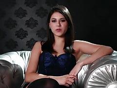 Shyla jennings interview in smoking hot lingerie tubes