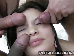 Hot lips spanish cocksucker tastes hot cum tubes