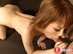 Her fucked japanese cunt drips juices on the bed tubes