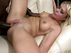 Eight thick inches of bbc fuck her asshole tubes