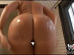 Interracial ass fucking for a curvy white slut tubes