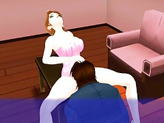 3d beauty fucked slowly in her luscious cunt tubes