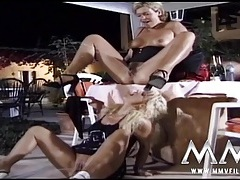 Kinky chicks piss and fuck throughout their scene tubes