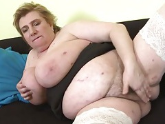 Mature bbw has a glorious set of big fat tits tubes