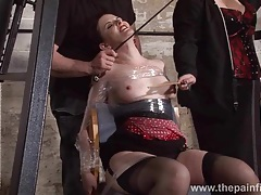 Submissive caroline pierces spanking tubes