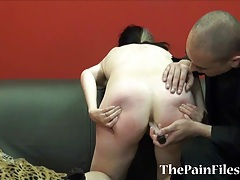 Kinky spanking and brutal blowjob tubes