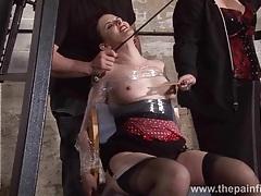 Submissive caroline pierces spanking tubes