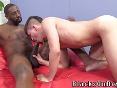 Big black cock blown by a cute white boy tubes