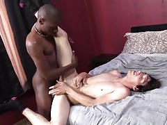Skinny boy from the park fucked by black cock tubes