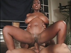 Big titty black girl craves hot anal sex tubes