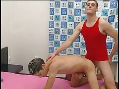 Smooth euro bottom ass fucked by a bare dick tubes