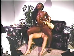 Classic interracial fuck with hot doggystyle tubes
