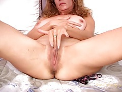 Big round milf tits are amazing on this babe tubes