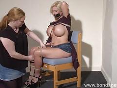 Lesbian bondage of melanie moon tubes