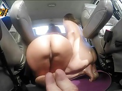 Two truck driver blown by two slutty brunettes tubes