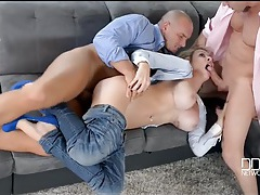 Fake titty babe chessie kay shared by two guys tubes