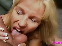 Sexy pov blowjob with hot ball sucking tubes