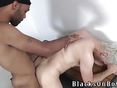 Bleach blonde bitch bottom ass fucked from behind tubes